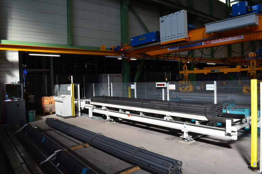 UNICOMPACT by KASTO takes logistics to new heights for the steel trade