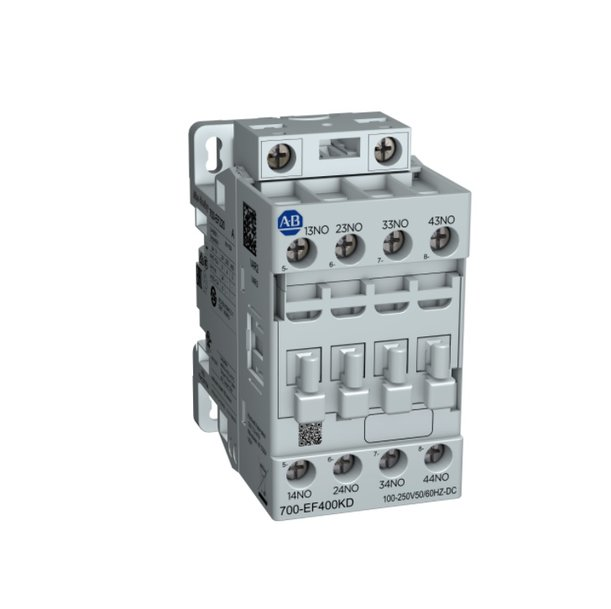 New Allen-Bradley IEC Industrial Relays Save Energy and Simplify Selection